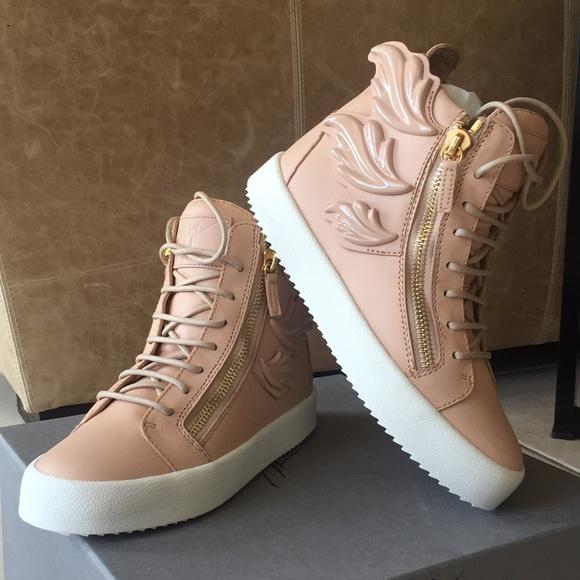 6446a88890b13 Giuseppe Zanotti Shoes   Womens Shell Wings Sneakers Us 8   Poshmark